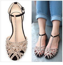 NEW flat sandals for women  summer shoes sandals rhinestone fashion the sandals
