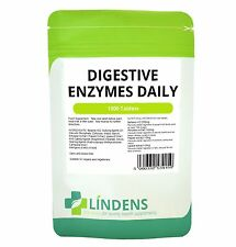 Digestive Enzymes Daily Tablets (90, 360 packs) - Detox, Digestion, Energy,