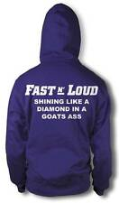 BNWT FAST N LOUD LIKE A DIAMOND ADULT ZIPPED GAS MONKEY HOODIE NEW S-XXL