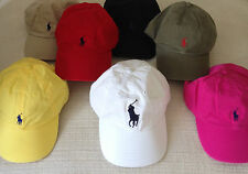NEW RALPH LAUREN POLO ADJUSTABLE BASEBALL CAP SPORT HAT ASSORTED COLOR RYDER CUP