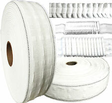 Curtain Heading Header 1 Inch, 2 Inch & 3 Inch Pencil Pleat Tape per Metre