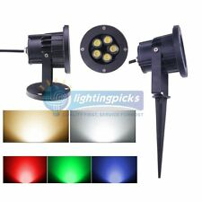 5x2W LED Landscape Garden Wall Yard Path Pond Flood Spot Light Outdoor IP65