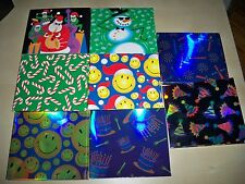 (LOT OF 500) GIFT WRAP BOX MUSIC CD / PC GAME (HOLIDAY, BIRTHDAY, ANY OCCASION)
