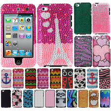 For Apple iPod Touch 4 (4th Generation) Aztec Bling Hard Case Cover Accessory