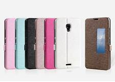 New Slim S-View Window Leather Flip Case Cover Stand For HUAWEI Ascend MATE 2