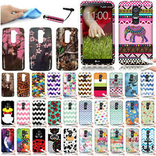 FOR LG OPTIMUS G2 D802 Colorful Turtle TPU Candy Silicone Rubber Case Cover +Pen