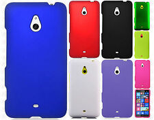 Nokia Lumia 1320 Rubberized Hard Case Snap on Phone Cover + Screen Protector