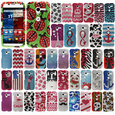 For AT&T MOTOROLA MOTO X PHONE XT1058 Case Bling Accessory HARD Cover Ladybug