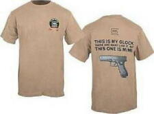 THIS IS **MY GLOCK T- SHIRT**, KHAKI, SIZES - L, XL