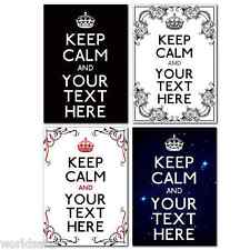 KEEP CALM PERSONALISED FOR HER ON VALENTINES DAY OR FOR HIM ROMANTIC LOVE GIFT