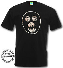 The Mighty Boosh T-Shirt Boosh Mask Face. Retro TV Show Cool Funky Tees