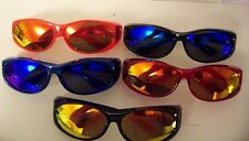 "RRV COLORED LENSES TAC POLARIZED FIT SUNGLASSES OVER    ""CHOOSE YOUR COLOR """