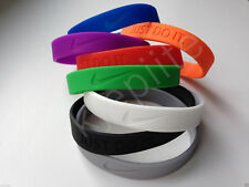 JUST DO IT. Nike New baller band  wristband bracelet 8 colors, silicone rubber