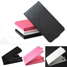 "Brand Fashion Folio Leather Cover Case Pouch For 6"" Lenovo A880 Mobile Phone U-D"