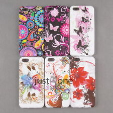 Beautiful Pattern Soft Silicone Skin Back Case Cover Protector f Apple iPhone 5C