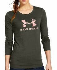 Women's  Under Armour Big Logo Camo Long Sleeve