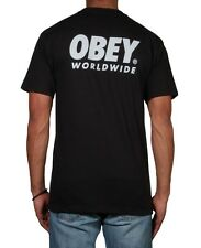OBEY - Worldwide Family T-Shirt Brand New Authentic Mens Tee