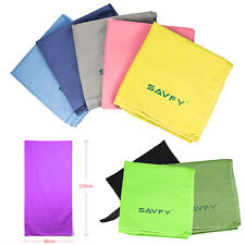 120x60cm Large Absorbent Microfiber Towel Beach Bath Drying Travel Sports Gym