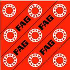 FAG 6000 2RS Series Rubber Sealed Bearings