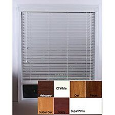 Customized 60-inch Real Wood Window Blinds