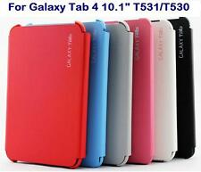 "TAB 4 10.1"" T530 T531 Flip book Case Cover Compatible Samsung Galaxy Tab4 10.1"