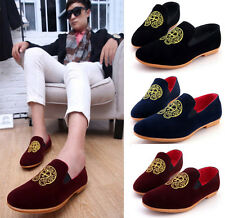 Men's Boat Shoes Suede Driving Moccasin Loafer Shoes slip on Flat Shoes MS768