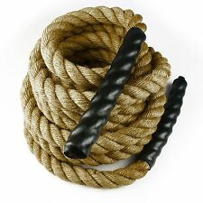 "1.5"" / 2"" Training Undulation Fitness MANILA Rope Battle Exercise Boat Dock"
