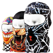 Cycling Lycra Balaclava Summer Sun Ultra UV Protection Printed Full Face Mask US