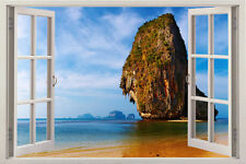 Wall Art Window Decal Decor Stickers Removable Vinyl Home 3d View Sticker Mural