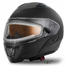 Arctic Cat Adult Modular Snowmobile Helmet with Electric Shield - Black - 5252-5