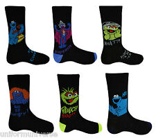 Sesame Street Character Socks Mens Boys Socks Novelty Socks Fathers Day Gift