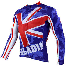 New Mens Long Sleeve Bike Wear Cycling Jersey Bicycle Clothing United Kingdom