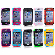 CHEAPEST Phone PROTECT Skins Shells DURABLE Case Fit Cover For Apple iPhone 4/4S