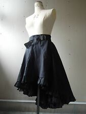 Steampunk Victorian Gothic Pirate Wench Showgirl Frontier Petticoat Skirt