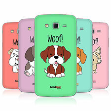 HEAD CASE HAPPY PUPPIES BATTERY BACK COVER FOR SAMSUNG GALAXY GRAND 2 G7102