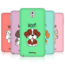 HEAD CASE HAPPY PUPPIES BATTERY BACK COVER FOR SAMSUNG GALAXY NOTE 3 N9002