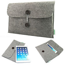 "Woolen Felt 11""13""15"" Netbook Sleeve Pouch Laptop Case Bag Cover For Mac Pro Air"