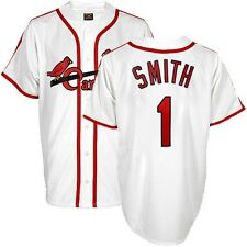 Ozzie Smith St Louis Cardinals 1947 Cooperstown Home White Jersey Men's (S-2XL)