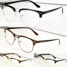 Fashion Clear Glasses Half frame glasses Clear