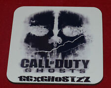 CALL OF DUTY GHOST PERSONALISED COASTER GIFTXBOX 360 PS3 IDEAL GAMER GIFT