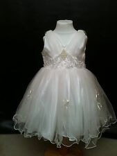 Communion Flower Girl Baby Bridesmaid Fairy Wedding Princess Party Dress 0-12yrs