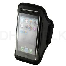 Premium Black Full Running Sports Gym Armband Case Cover For iPhone 5 5S