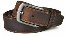 2014 Men's Genuine leather Cowhide Vintage Brown Classic Jean Pin Buckle Belts