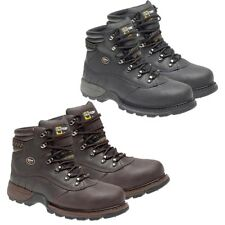 Mens Safety Boots Grafters Boots Waterproof Steel Toe Cap Safety Work Boots