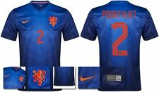 *14 / 15 - NIKE ; HOLLAND AWAY SHIRT SS / POORTVLIET 2 = KIDS & JUNIOR SIZE*