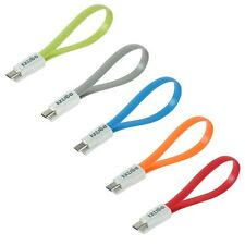 KKTREE Micro USB Colorful Magnet Portable Travel Flat Data Sync Charging Cable