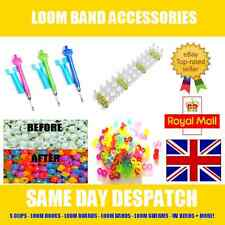 Loom Band Accessories - S-Clips - Hooks - Boards - Bands - UV Pony Beads + More!