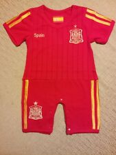 SPAIN 100% COTTON SOCCER BABY ROMPERS - ONE PIECE BABY-SUIT