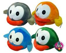 "FLAPPY BIRDS LARGE 9"" PLUSH SOFT TOY ORANGE GREY BLUE GREEN NEW WITH TAGS"