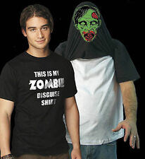 My Zombie Disguise T Shirt Funny Dead Walkers Sm to 6XL Big Tall Free Shipping